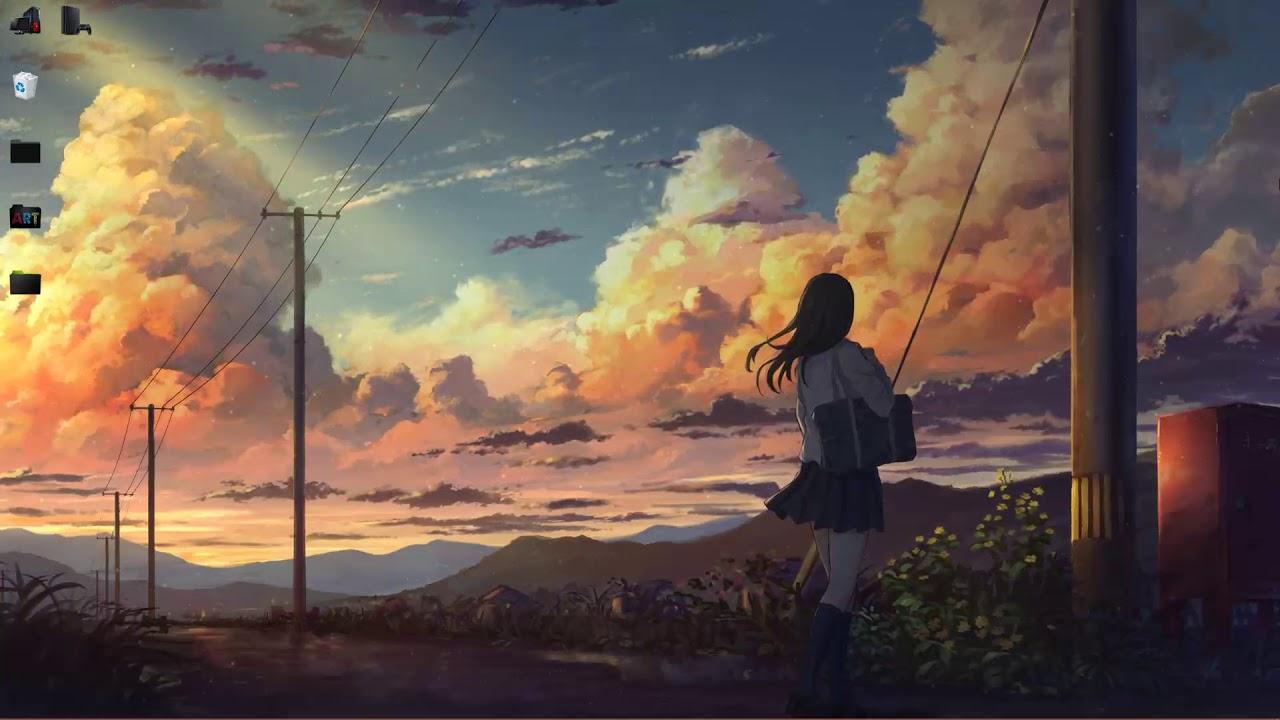 Anime Wallpaper Landscape 1280x720 Wallpaper Teahub Io