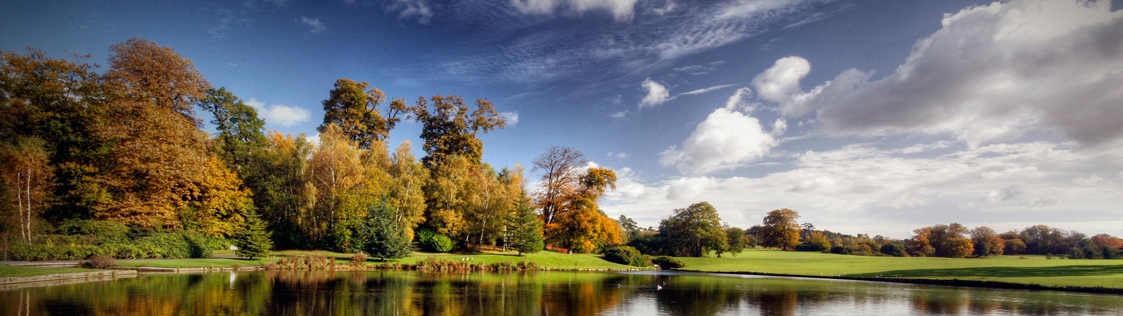 Landscape 3840 X 1080 - HD Wallpaper