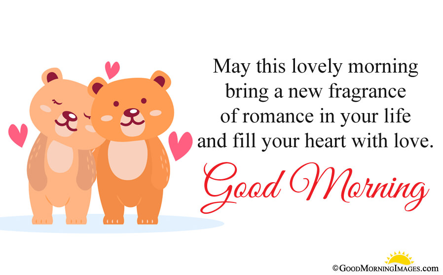 Romantic Good Morning Cute Love Sms With Full Hd Couple - Cute Happy Morning Wishes - HD Wallpaper