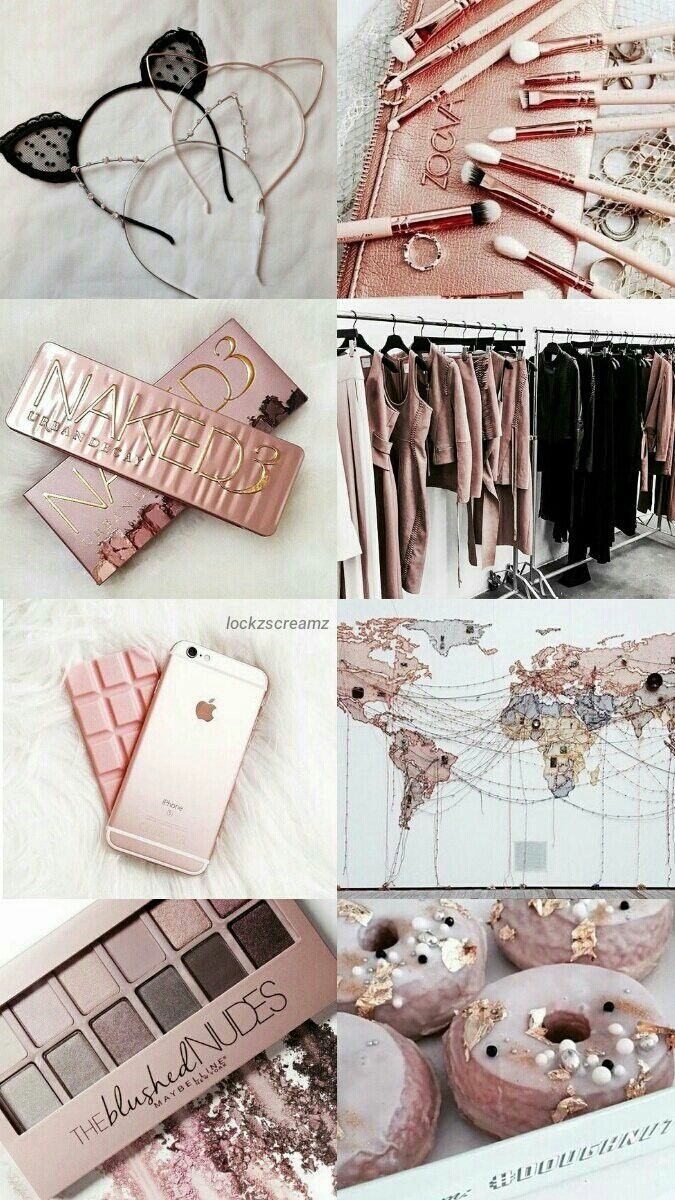 Lock Screen Iphone 6 Wallpaper Rose Gold - HD Wallpaper