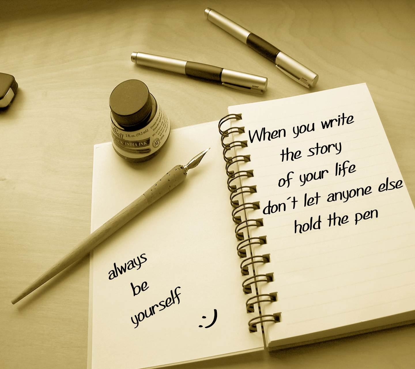 Life Quotes In Hd - HD Wallpaper