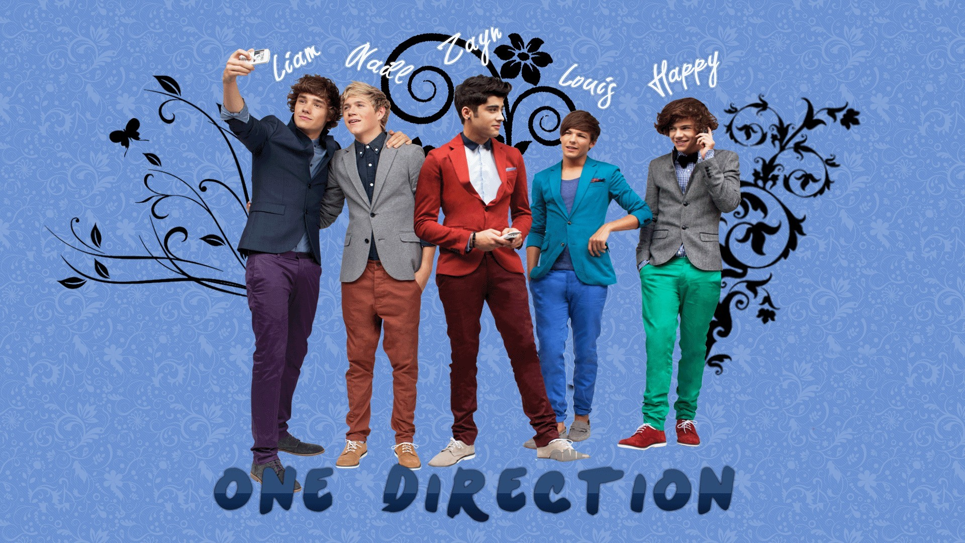 One Direction Hd Wallpaper - One Direction Desktop Wallpaper Name - HD Wallpaper