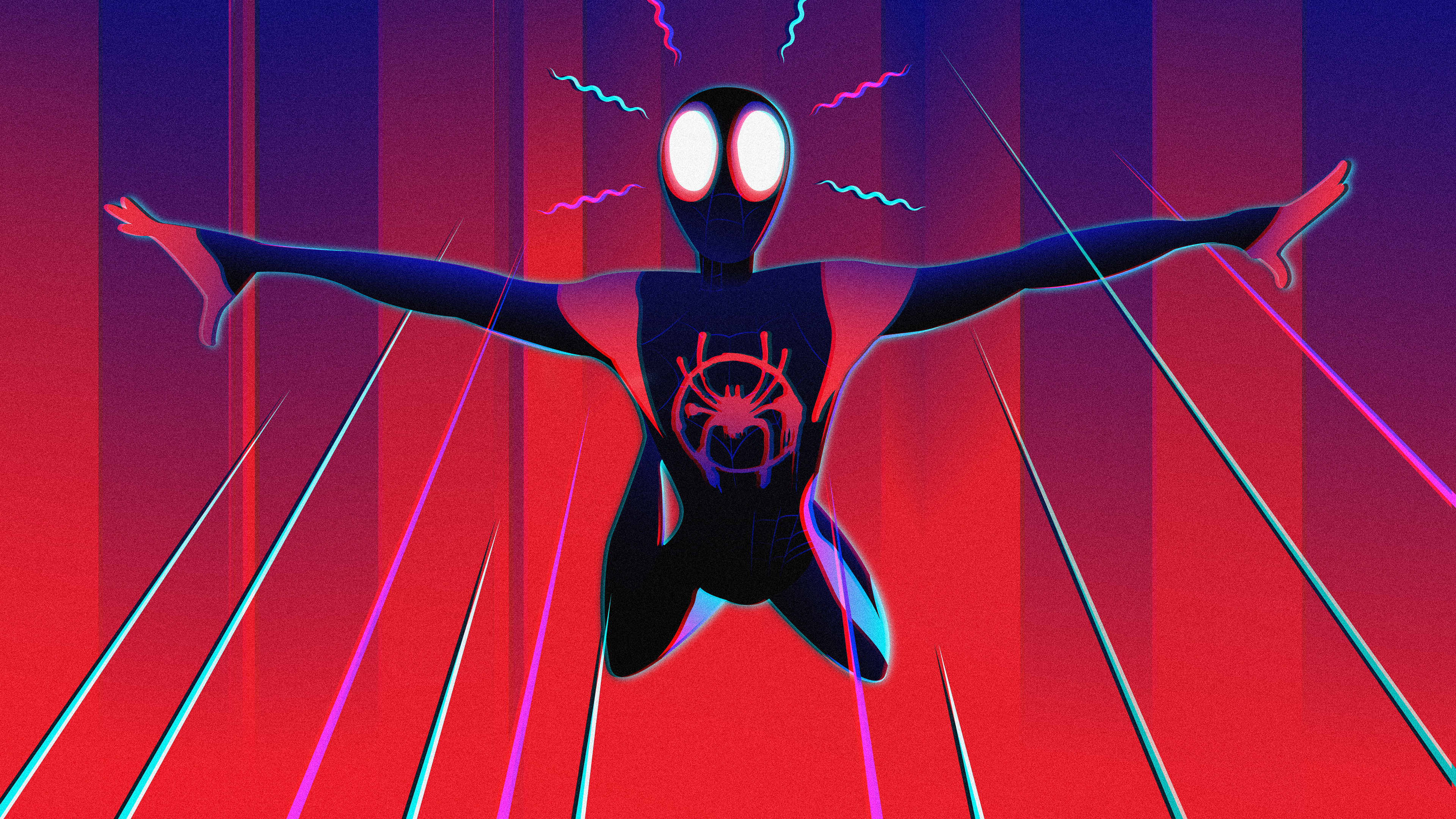Spider Man Miles Morales 4k Wallpapers Spider Man Into The Spiders 3840x2160 Wallpaper Teahub Io