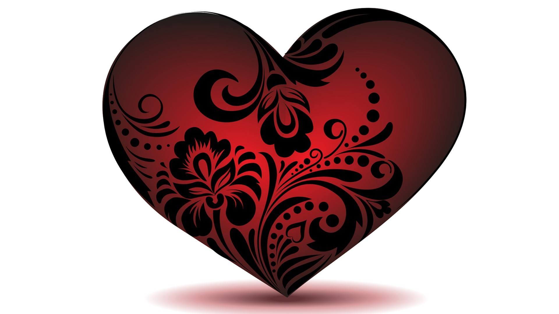 Roamntic Red Heart Hd Wallpaper Free   Data Src Red - Hd Photos Of Heart - HD Wallpaper