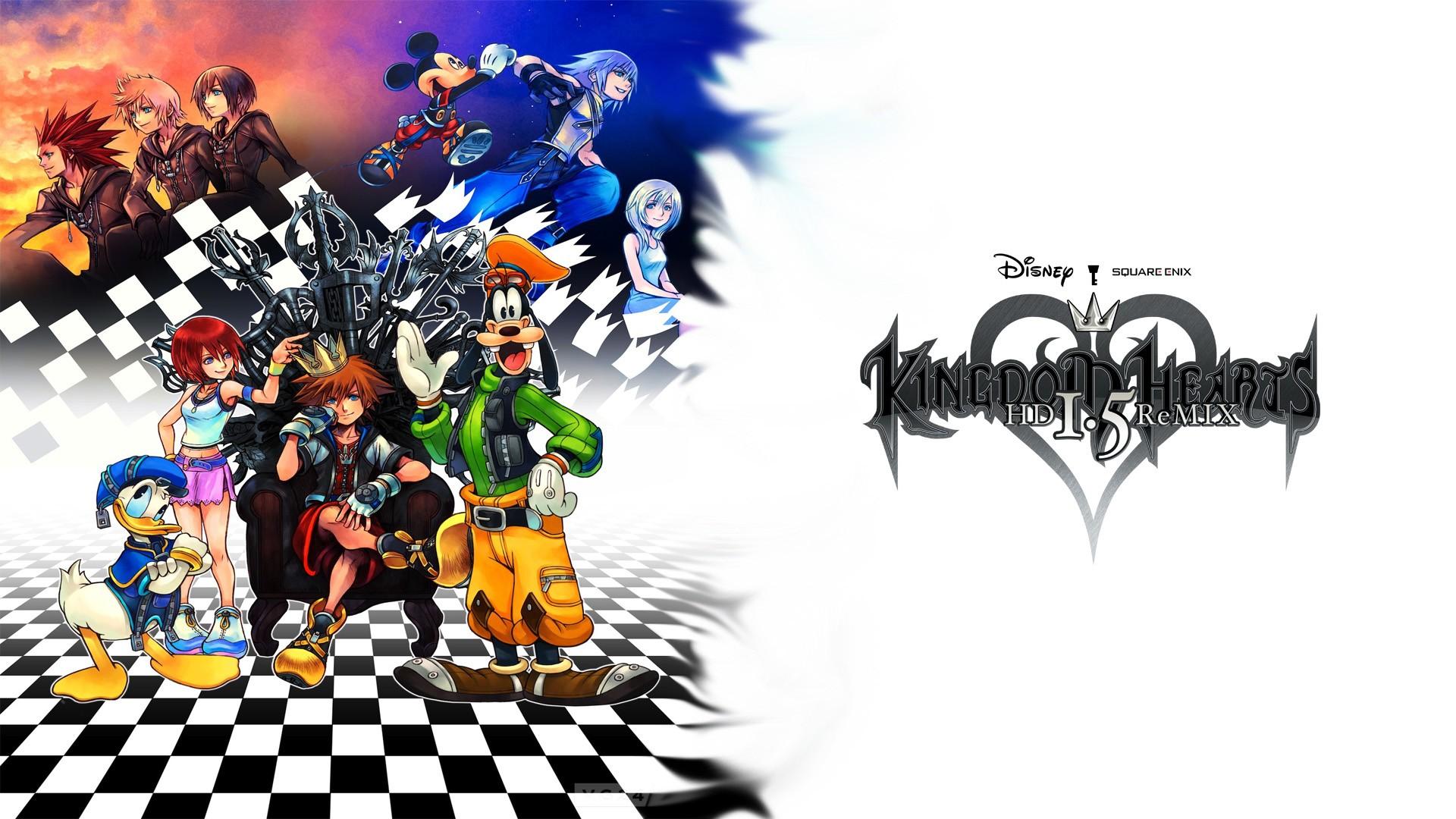 Hd Kingdom Hearts Wallpapers Group - Kingdom Hearts Wallpaper 1080p - HD Wallpaper