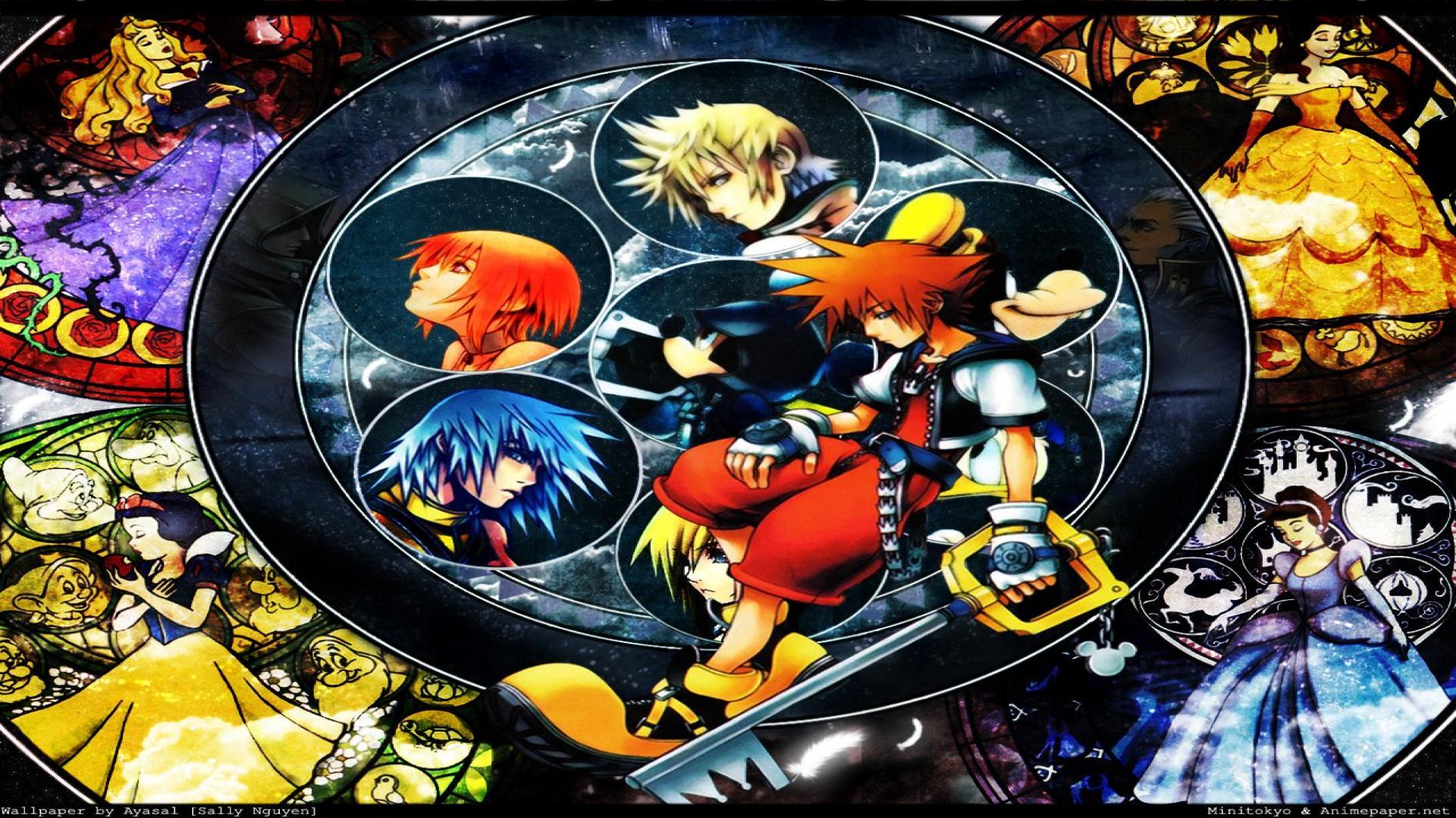 Kingdom Hearts Wallpaper 1920x1080 - HD Wallpaper