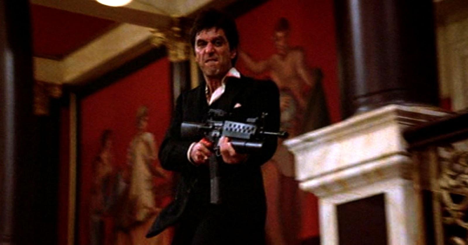 Al Pacino Burned Hand In Scarface - HD Wallpaper