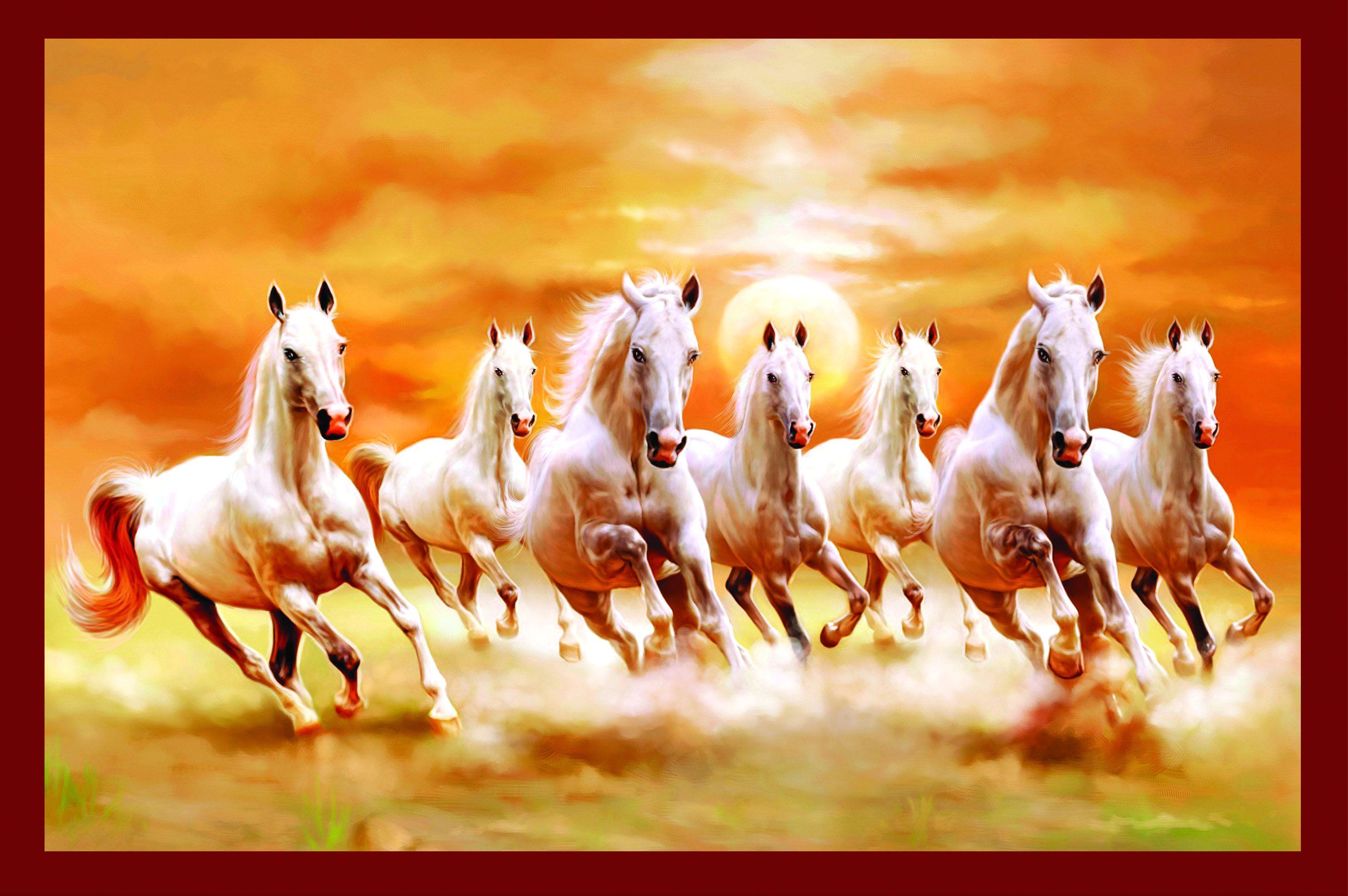 Vastu Seven Horses 3056x2032 Wallpaper Teahub Io