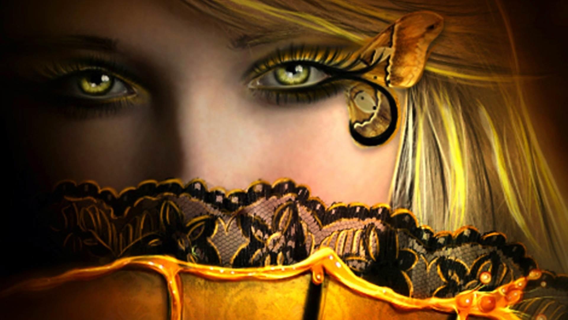 Beautiful Fairies Wallpapers Wallpaper 800ã—600 Beautiful - Fantasy Woman In Yellow - HD Wallpaper