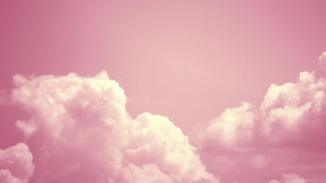 Clouds Aesthetic Tumblr - Pink Clouds Wallpaper Desktop - HD Wallpaper