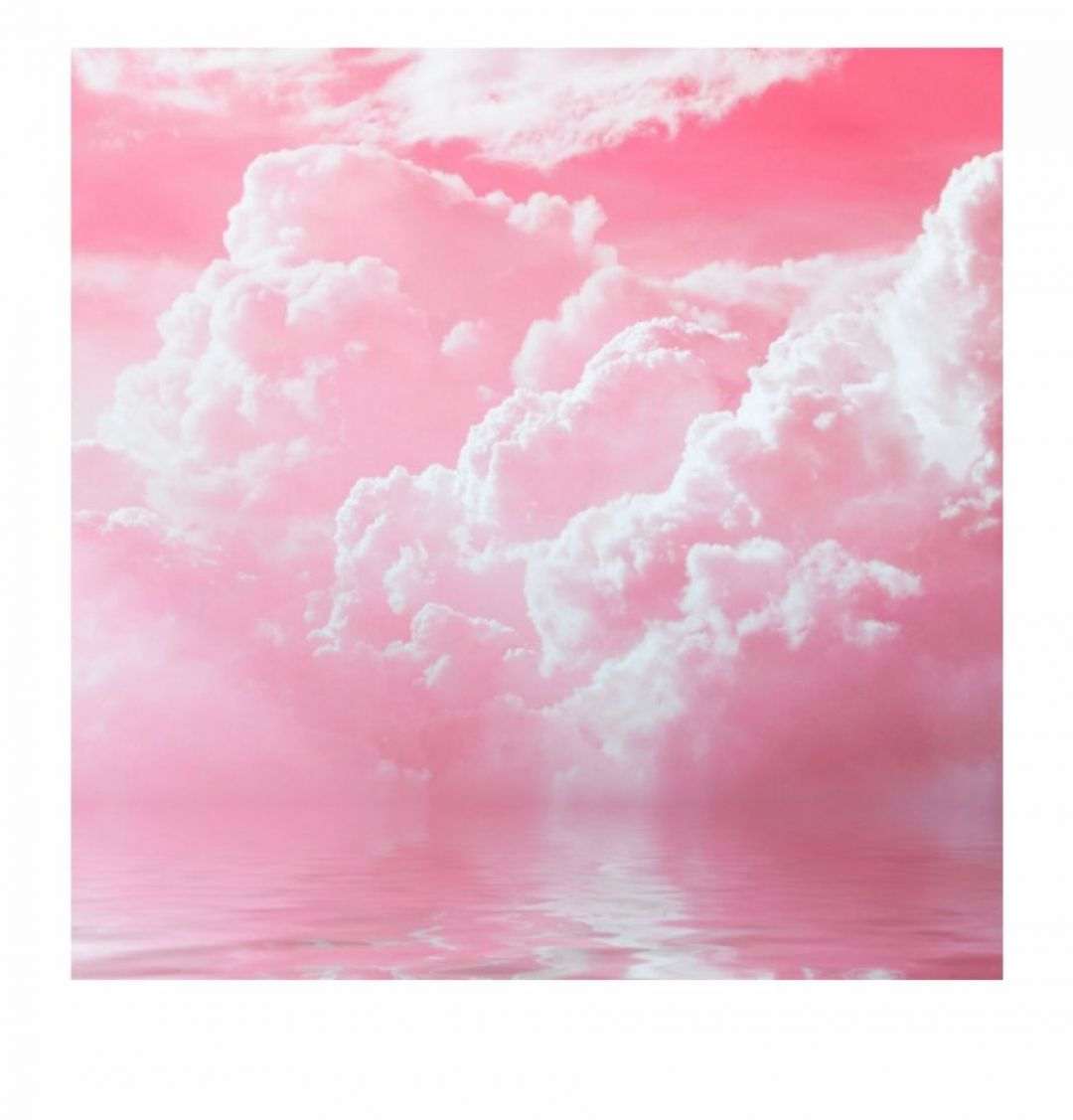 Clouds Aesthetic Tumblr - Aesthetic Light Pink Background - HD Wallpaper