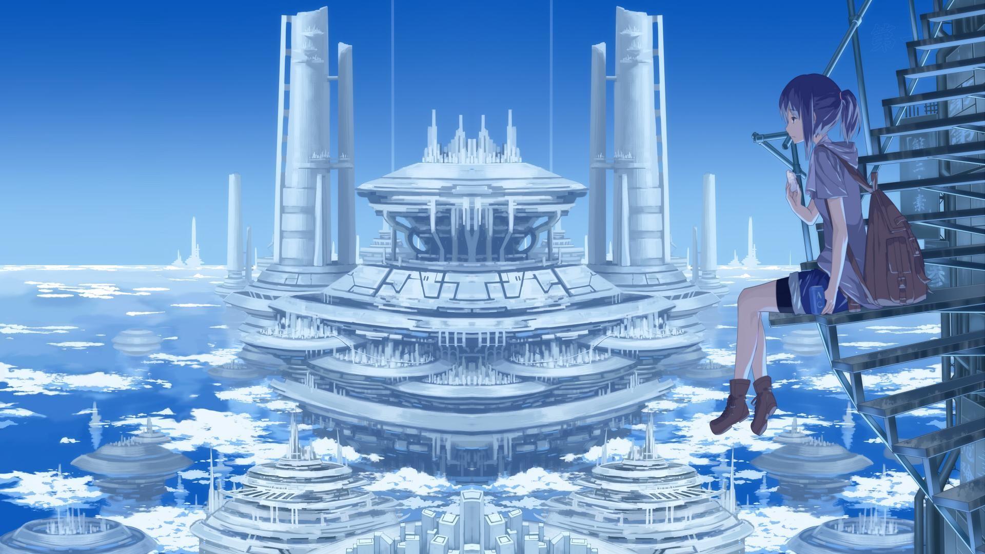 1920x1080, Anime Scenery Wallpaper 7988 8298 Hd Wallpapers - Scenery Anime Desktop Background - HD Wallpaper