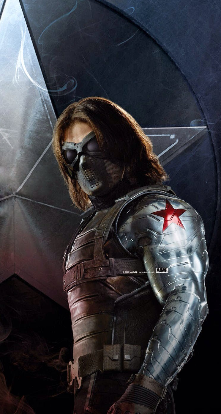 Winter Soldier Wallpapers 4k 744x1392 Wallpaper Teahub Io