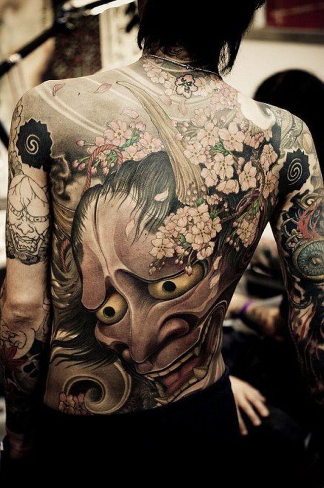 Yakuza Tattoo - HD Wallpaper