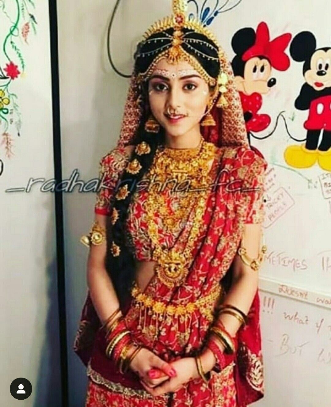 Radha Krishna Serial Radha Marriage - HD Wallpaper