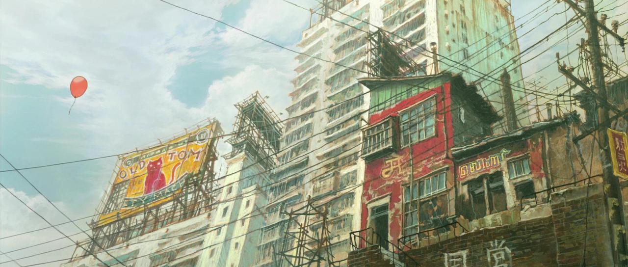 Anime Backgrounds Tekkonkinkreet Ghost In The Shell Anime Backgrounds 1280x544 Wallpaper Teahub Io