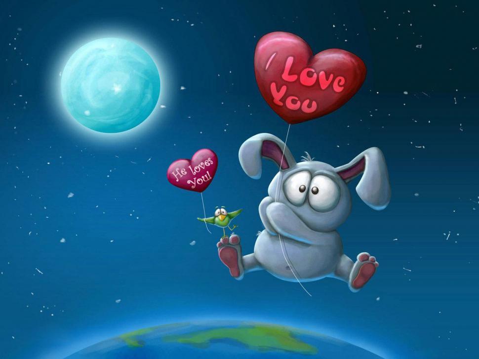I Love You He Loves You Wallpaper,love Wallpaper,loves - HD Wallpaper