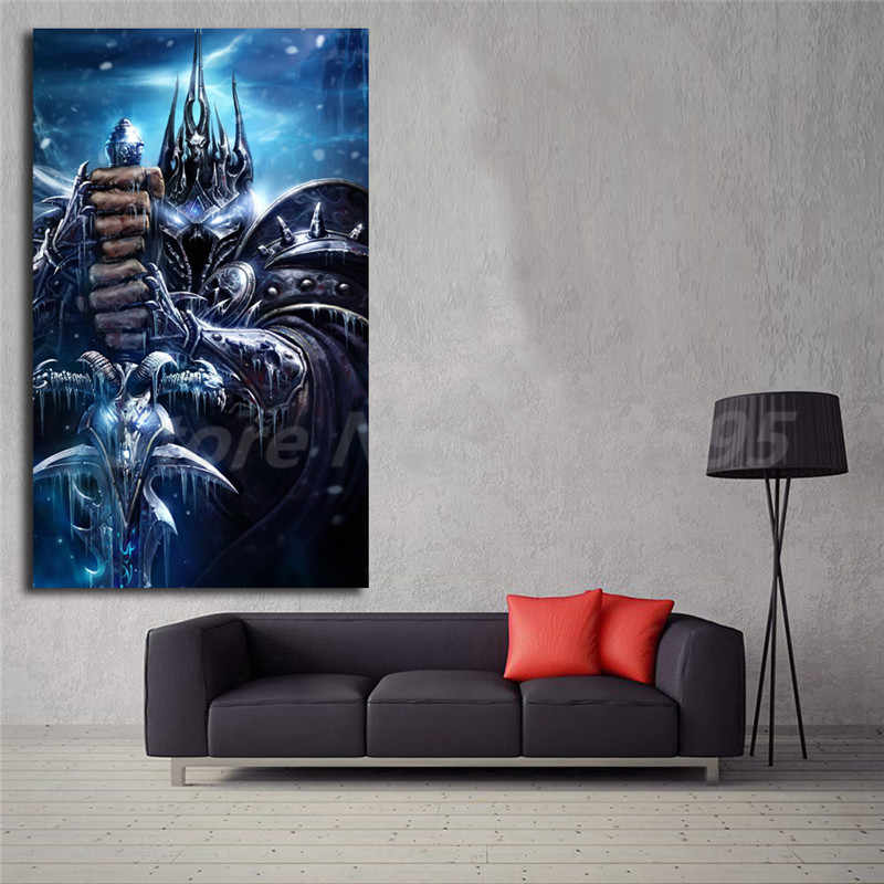 World Of Warcrafts Lich King Animated Wallpaper Canvas - Iphone Wallpaper World Of Warcraft - HD Wallpaper