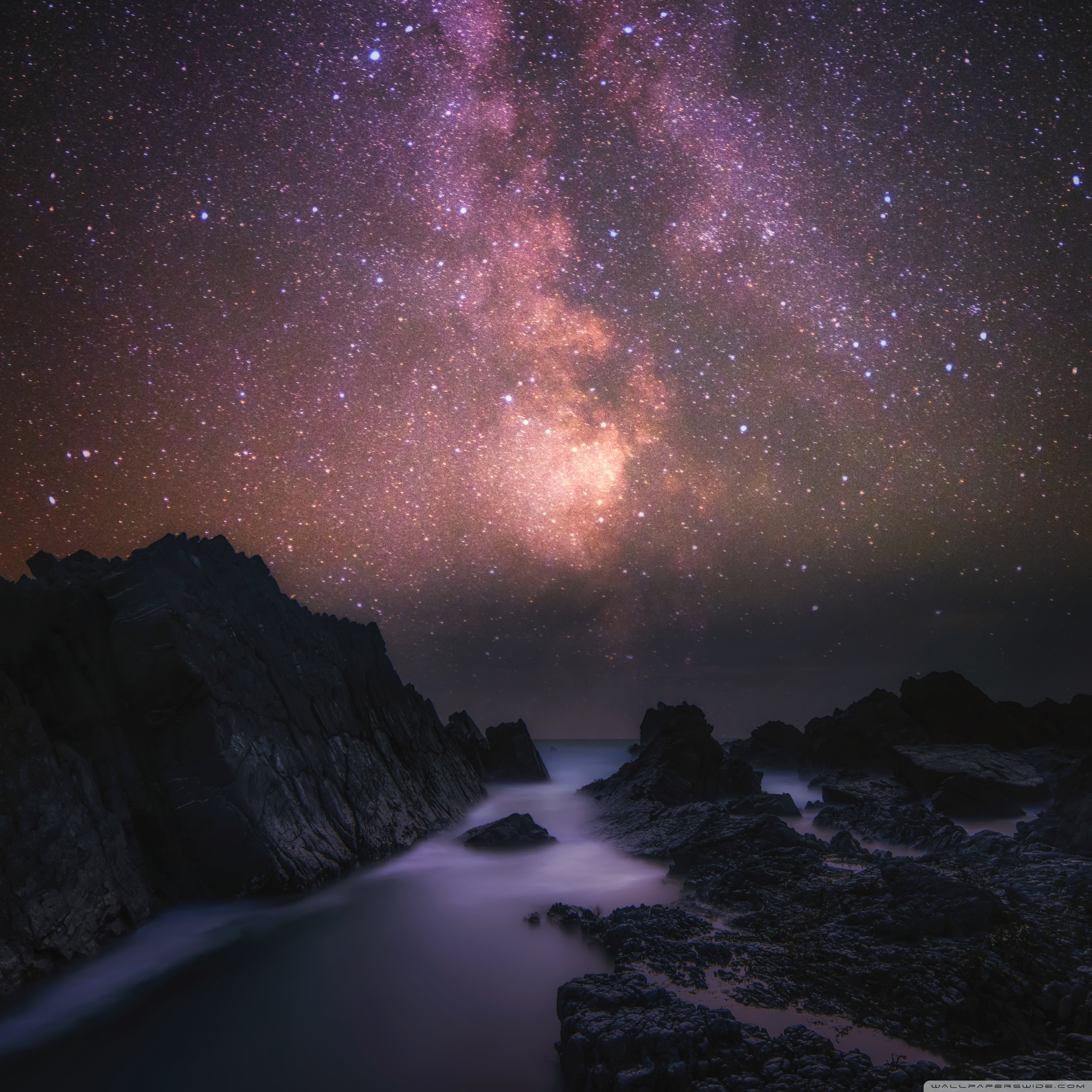 Milky Way Tab S6 2560x2560 Wallpaper Teahub Io
