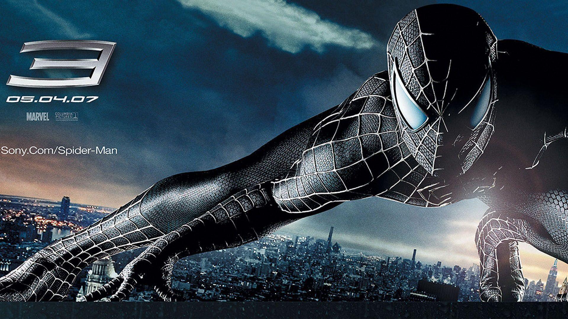 Spiderman 10 Wallpaper - Spiderman Black Full Hd - HD Wallpaper