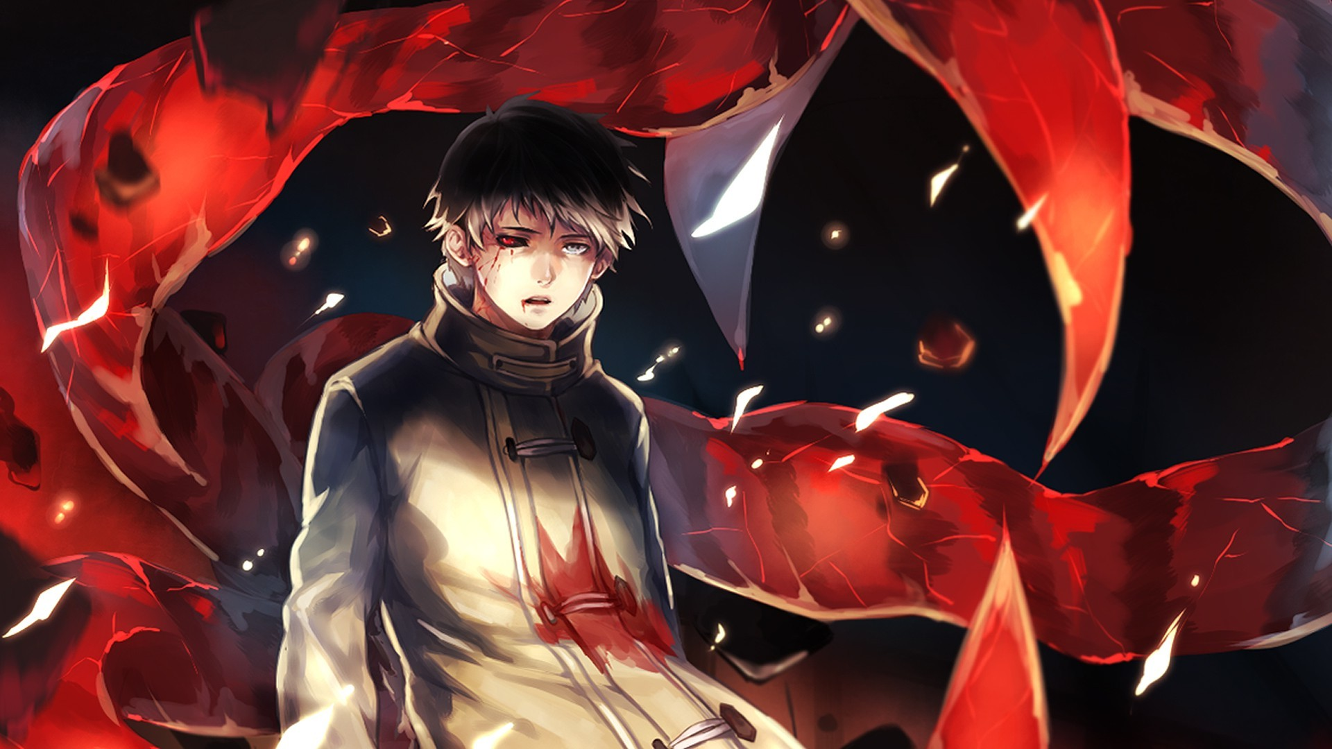 1920x1080 Tokyo Ghoul Kaneki Ken Anime Boys Wallpapers Kaneki Wallpaper Hd Desktop 1920x1080 Wallpaper Teahub Io