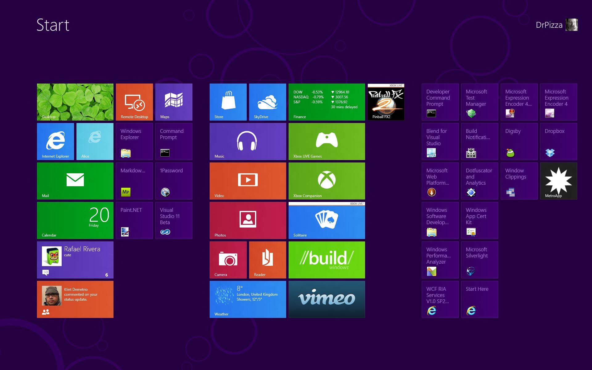 Windows 8 Desktop - Windows 8 Main Desktop - HD Wallpaper