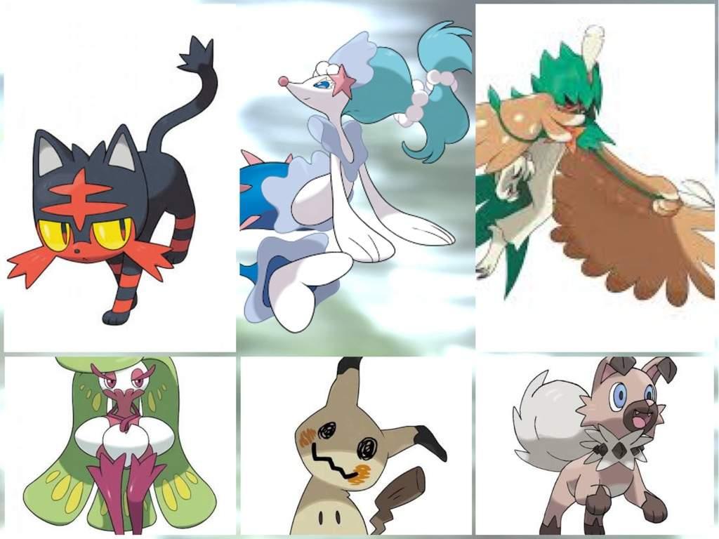 User Uploaded Image - Sun And Moon Starter Pokemon - HD Wallpaper