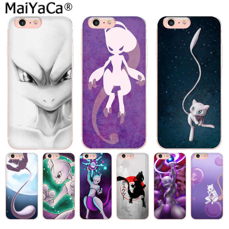 Maiyaca Cute Cartoon Anime Elf Mewtwo Pattern Style - Mewtwo Phone Cases For Oneplus 5 - HD Wallpaper