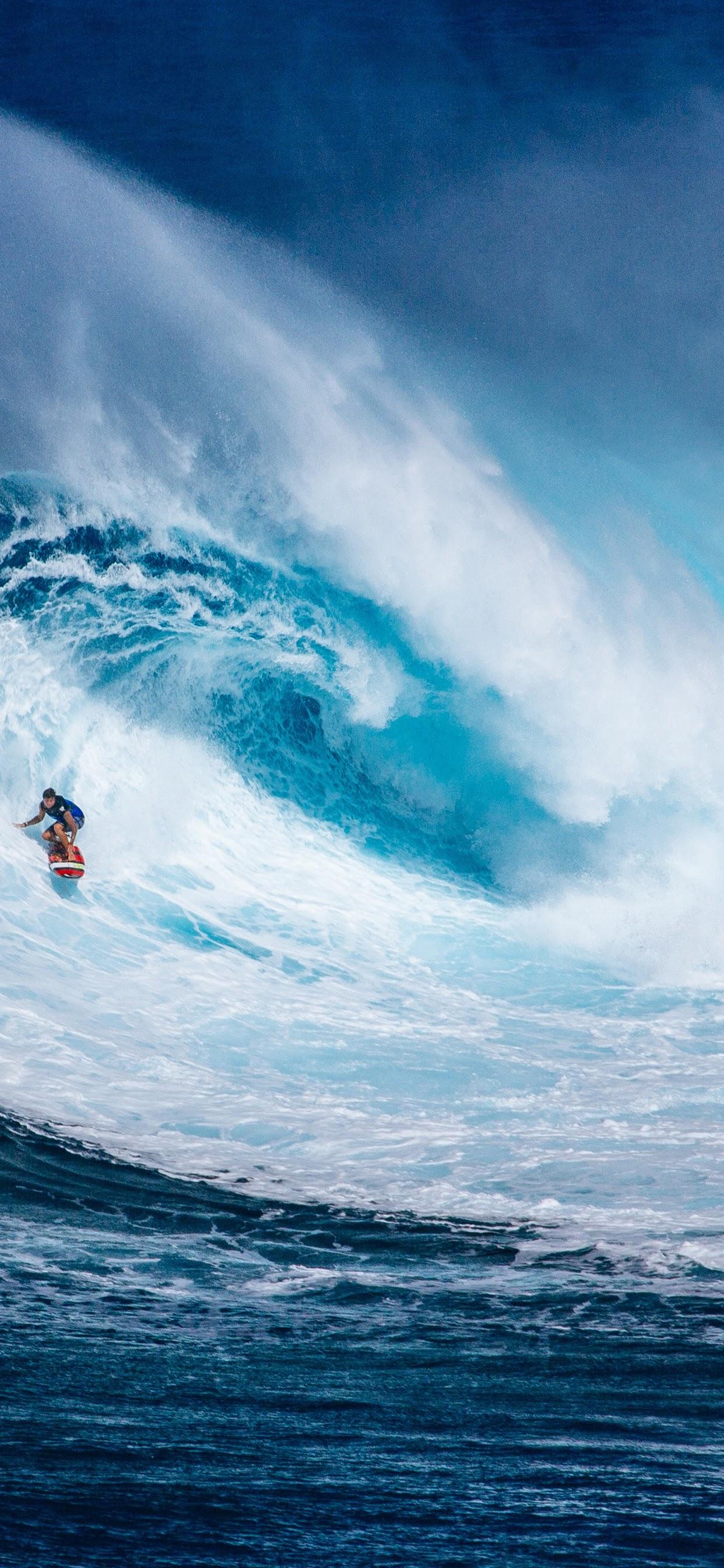 Surfing Ocean Waves Nature Scenery 4k Surfing Wallpaper Iphone 11 1242x2688 Wallpaper Teahub Io