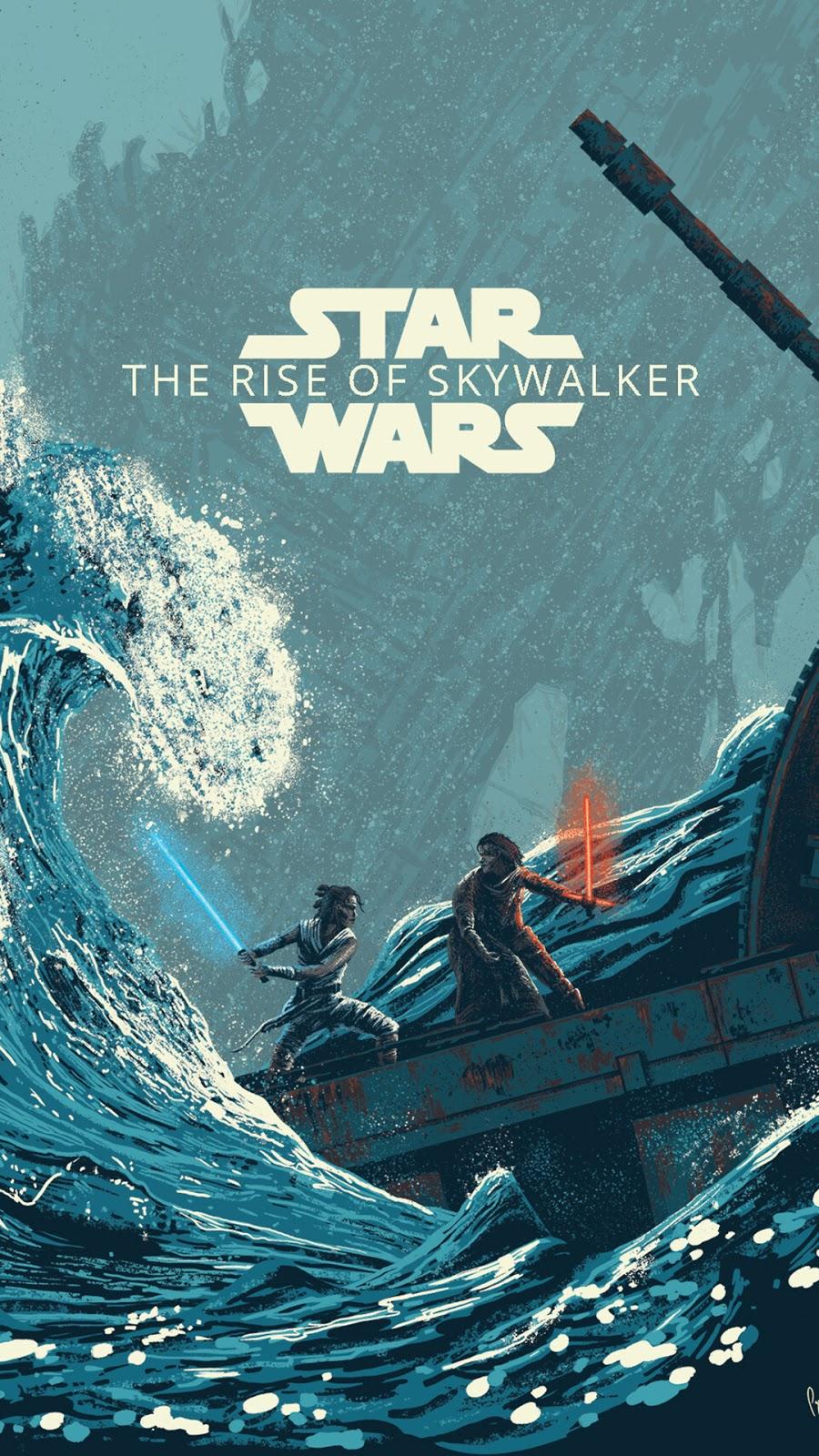 Ray Vs Kyle Rise Of Skywalker Wallpaper Star Wars The Rise Of Skywalker Art 900x1600 Wallpaper Teahub Io