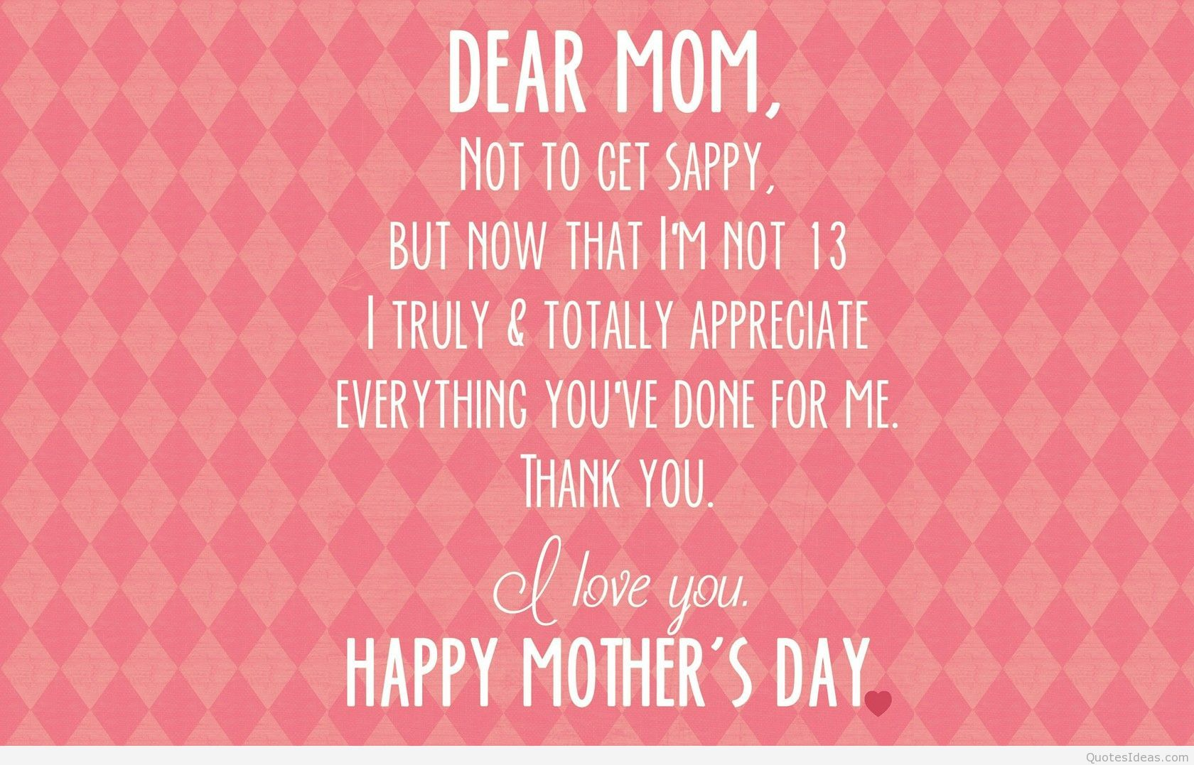 Mother's Day Quotes Hd - HD Wallpaper