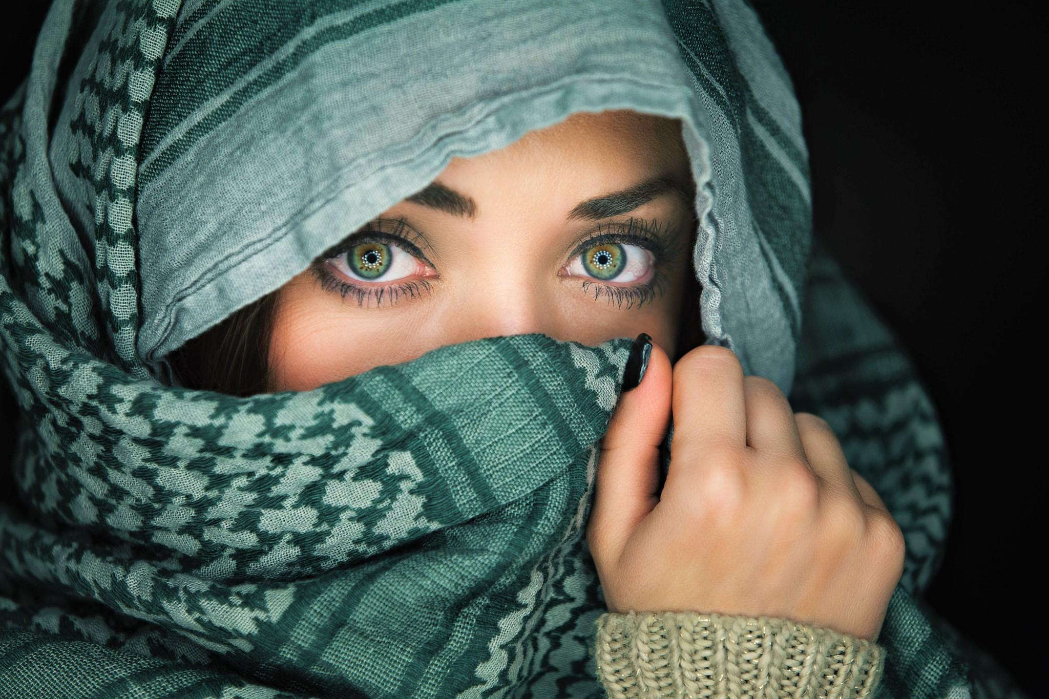 Green Eyes Wallpaper - Creative ...