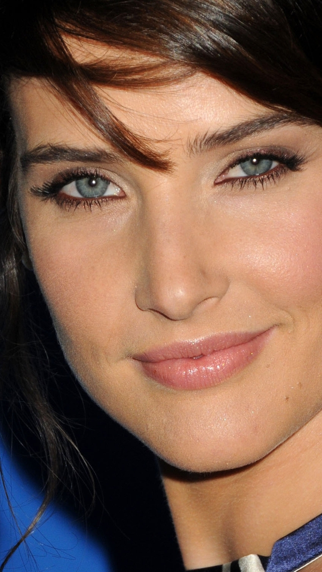 Cobie Smulders Smile For 640 X 1136 Iphone 5 Resolution - Cobie Smulders Hot Ass - HD Wallpaper