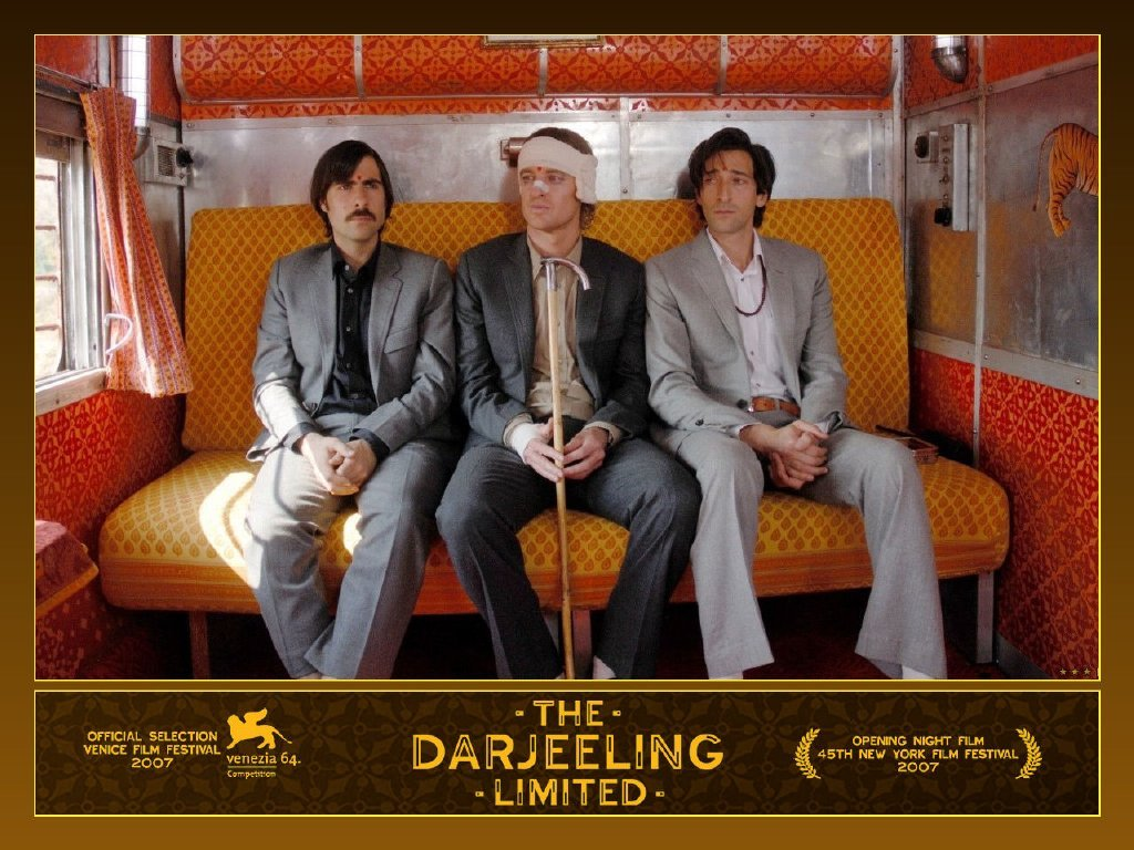 The Darjeeling Limited - Satyajit Ray Marlon Brando - HD Wallpaper