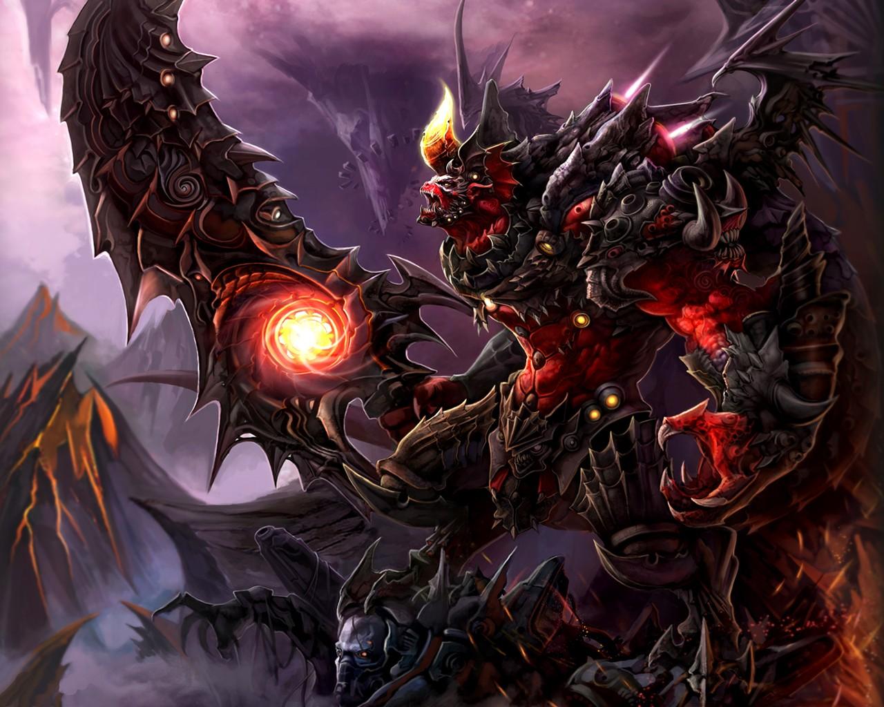 Wallpaper - Dark Fantasy Art Demon - HD Wallpaper