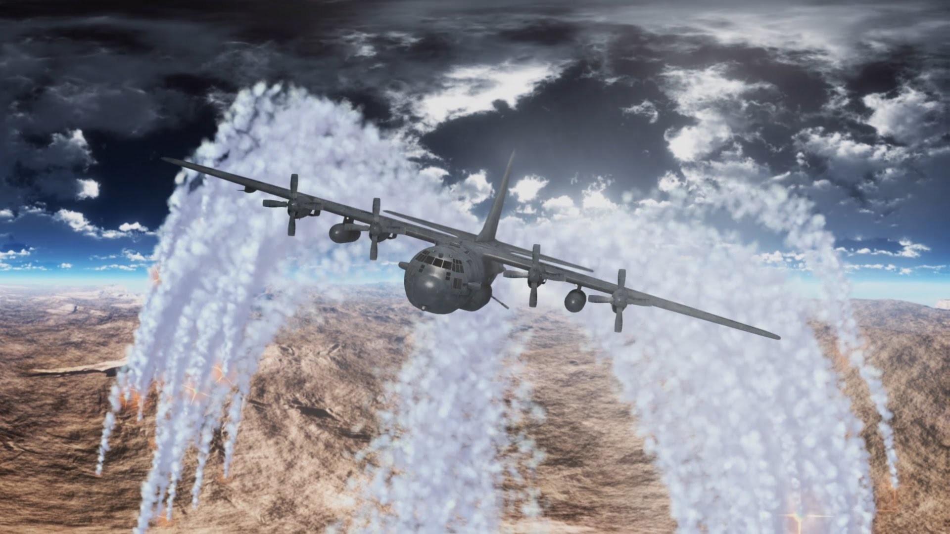 Ac 130 Gunship Flares