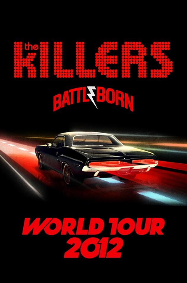 The Killers Battle Born Tour Killers Battle Born Poster 632x956 Wallpaper Teahub Io
