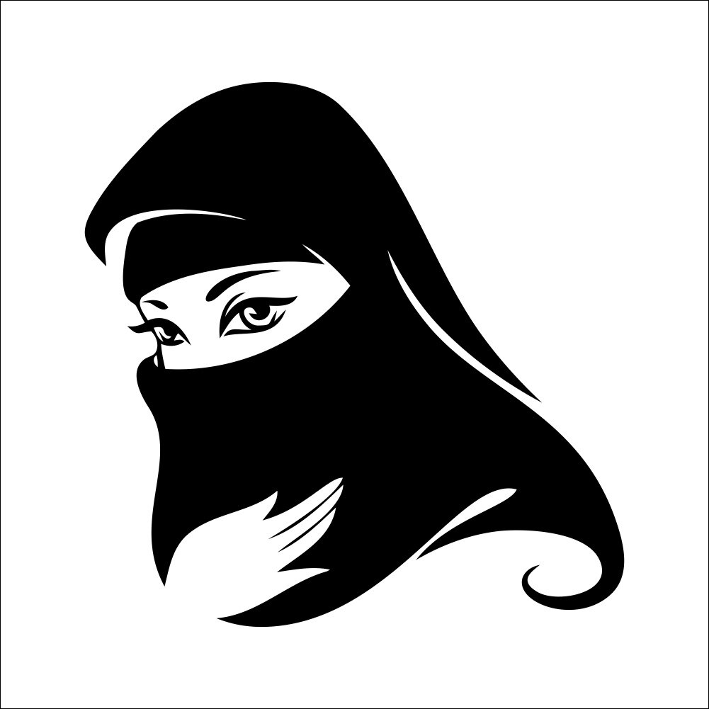 Muslim Girl Sticker - HD Wallpaper