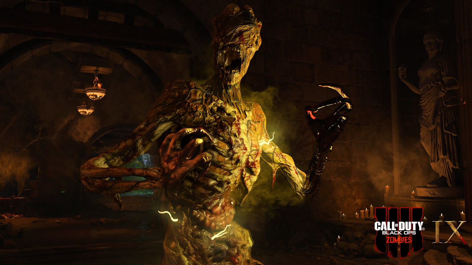 Black Ops 4 Ix Zombies - Call Of Duty Black Ops 4 Zombies - HD Wallpaper