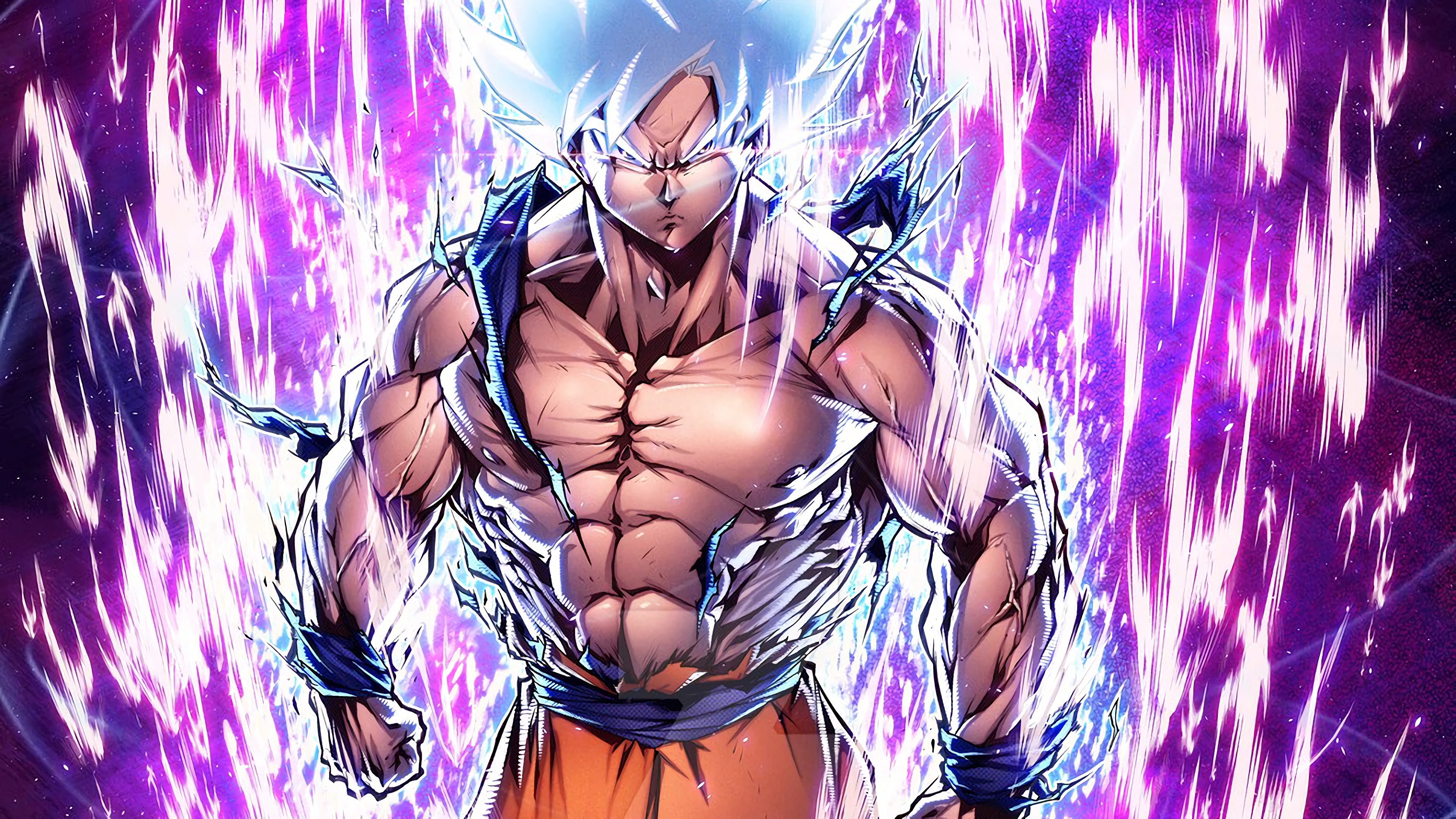Goku Ultra Instinct Mastered 3840x2160 Wallpaper Teahub Io