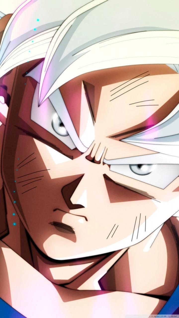 Ultra Instinct Goku Hd Wallpaper For Mobile 720x1280 Wallpaper Teahub Io