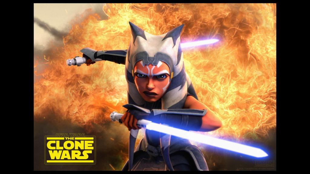 Clone Wars Star Wars Ahsoka Tano Clone Wars Season 7 Poster 1024x576 Wallpaper Teahub Io