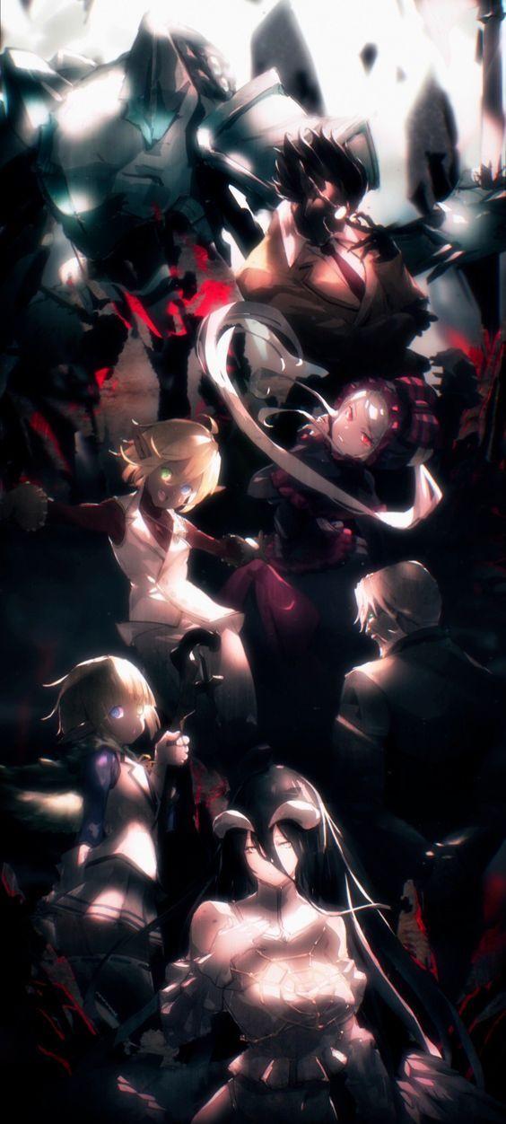 Overlord Season 3 Ending Art 564x1252 Wallpaper Teahub Io