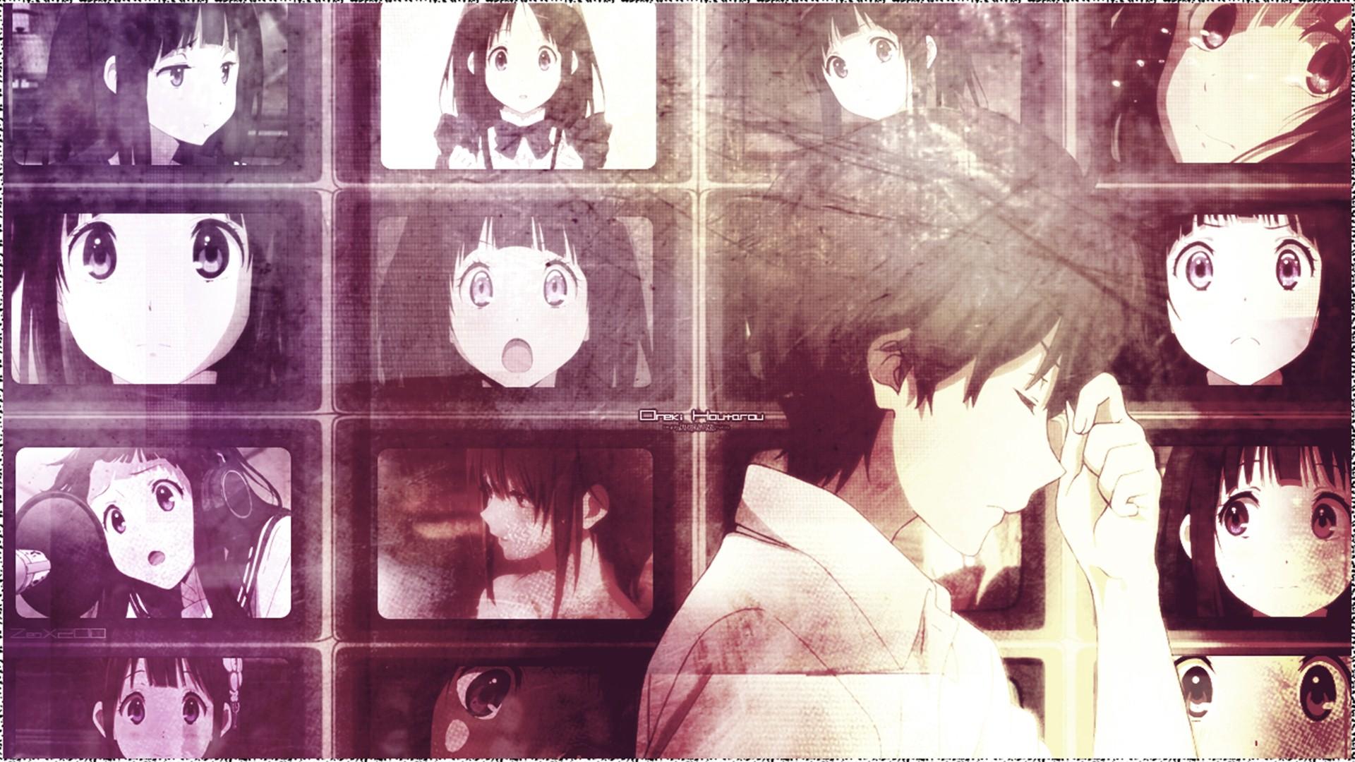 Houtarou Oreki And Eru Chitanda Hq Desktop Wallpaper Hyouka Quotes 1920x1080 Wallpaper Teahub Io