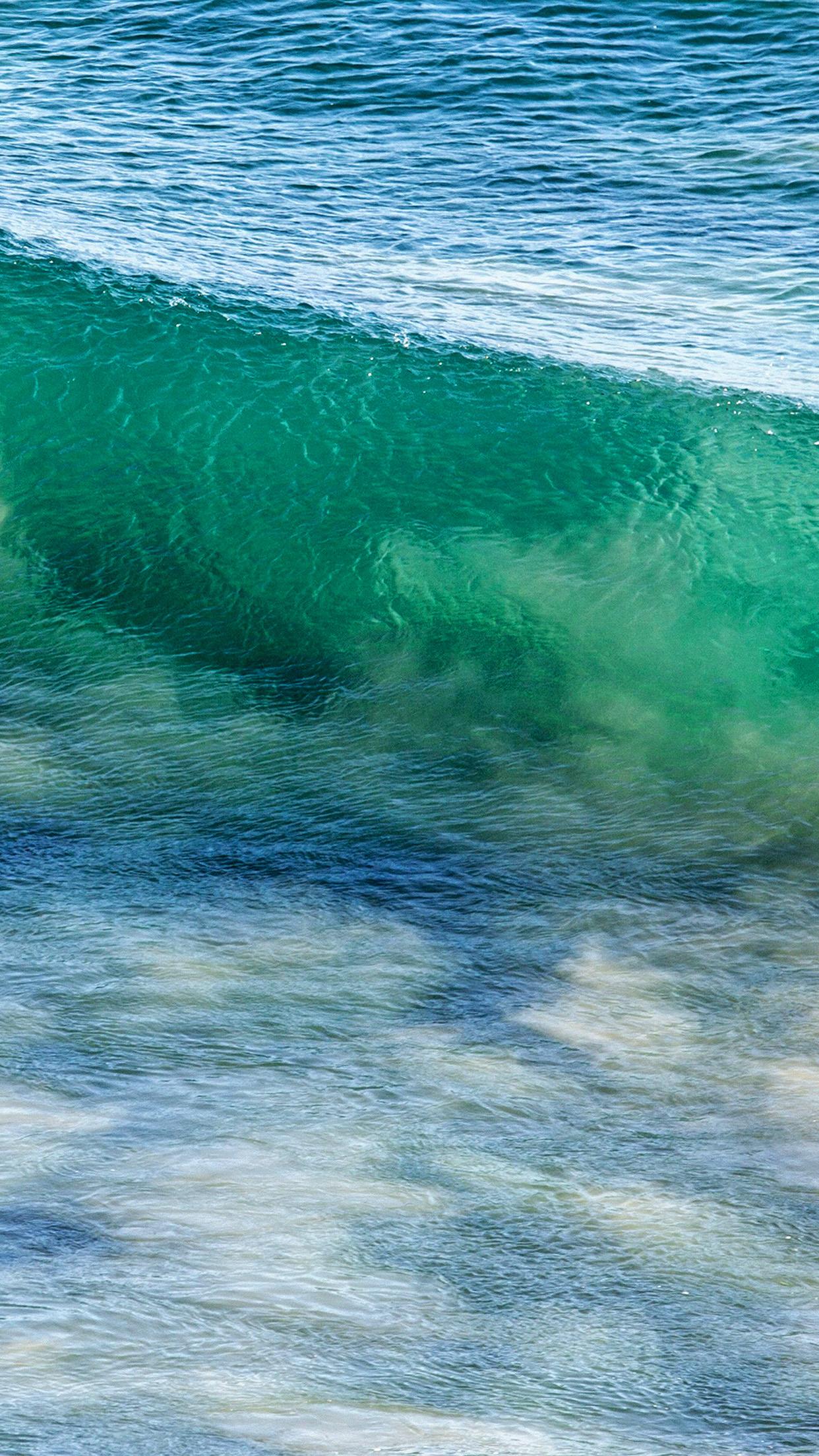 Sea Wave Nature Ocean Summer Fun Android Wallpaper - Iphone 8 Plus Summer Background - HD Wallpaper