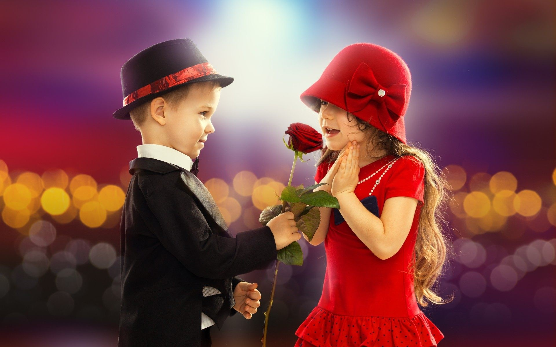 Love Romantic Boys And Girls Wallpapers And Pictures - Boy Proposing A Girl With Red Rose - HD Wallpaper
