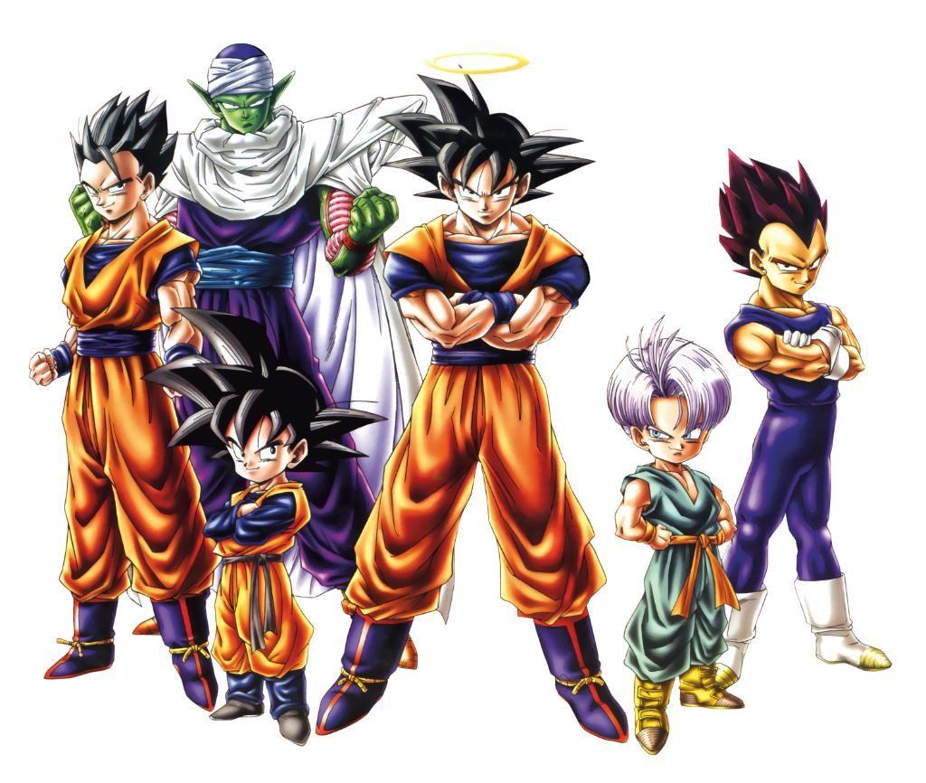 Dragon Ball Z - Dragon Ball Z Png - HD Wallpaper