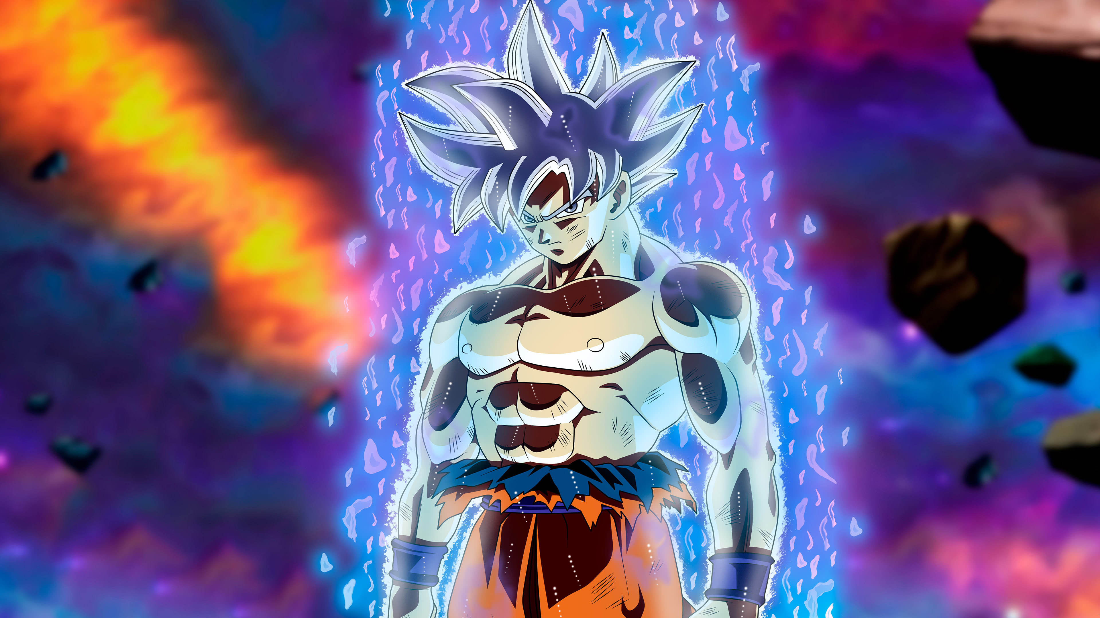 Dragon Ball Super Ultra Instinct Goku Uhd 4k Wallpaper Goku Ultra Instinct Wallpaper 4k 3840x2160 Wallpaper Teahub Io