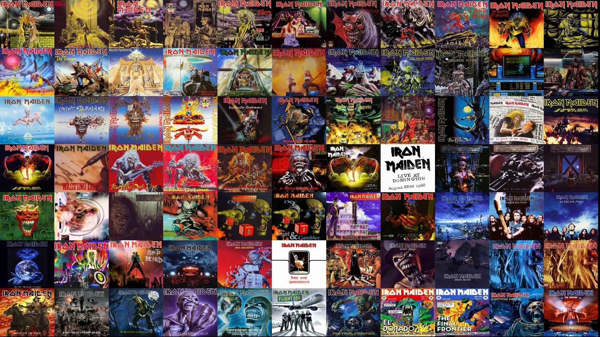 Wiki Iron Maiden Heavy Metal Dark Album   Data Src - Iron Maiden All Covers - HD Wallpaper