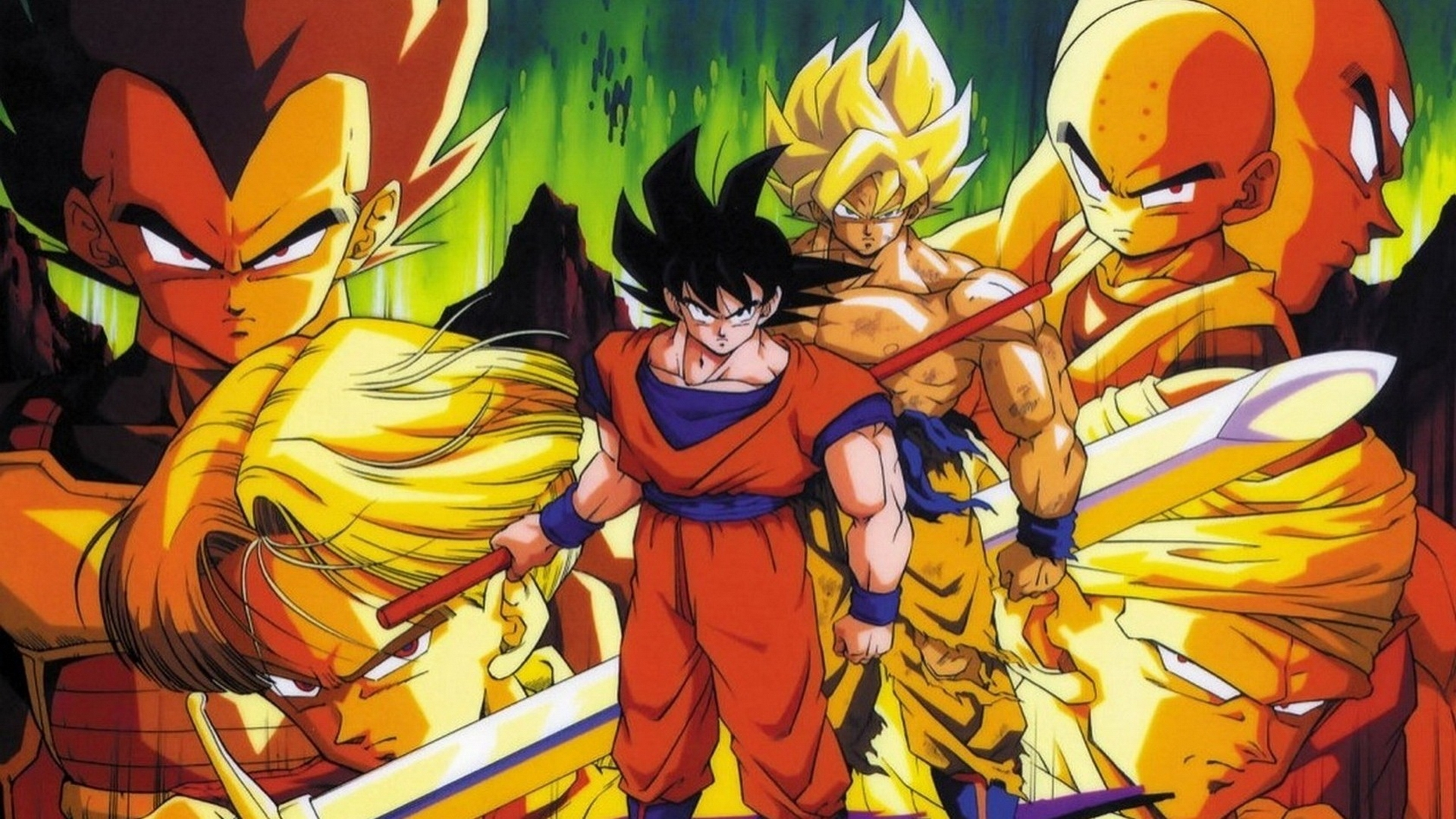 Dragon Ball Z Images Goku Download - Dragon Ball Z Wallpapers Hd Download - HD Wallpaper